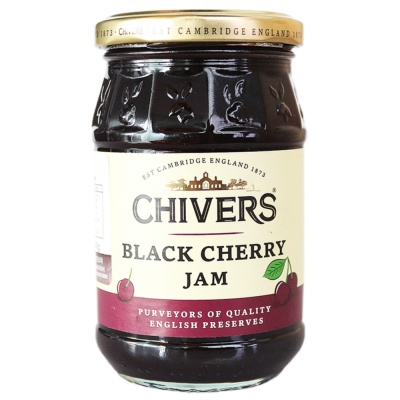 Chivers Black Cherry Jam 340g
