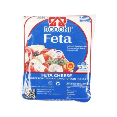 Dodoni Feta Cheese 200g