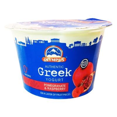 Olympus Pomegranate Raspberry Yogurt 150g