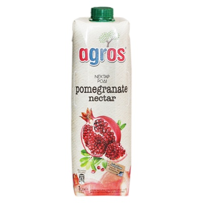 Agros Pomegranate Juice Nectar 1L