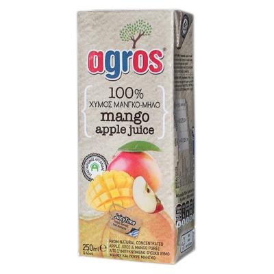 Agros 100% Mango Apple Juice 250ml