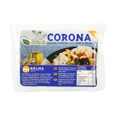 Korona Greek White Cheese Type Feta, Portion 200g