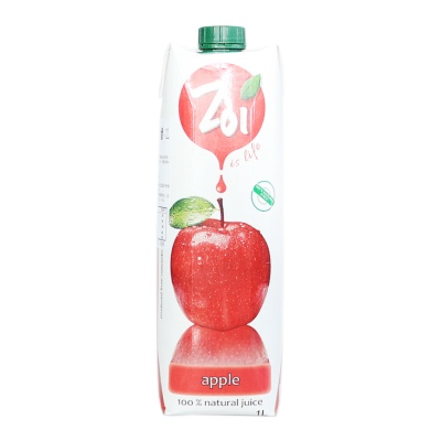 Zol Apple 100% Juice Drink 1L