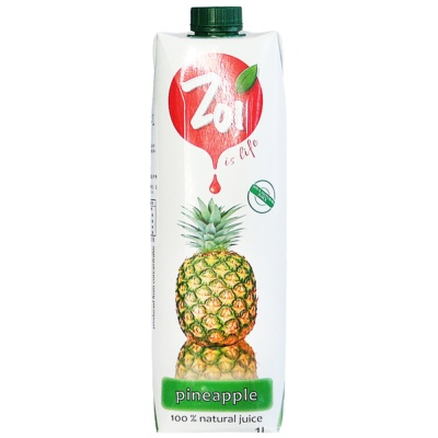 Zol Pineapple Juice 1L