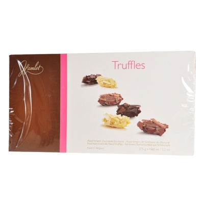 Hamlet Assorted Chocolate Flaked Truffles 375g