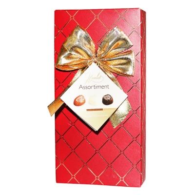 哈姆雷特(Hamlet)切斯特菲尔德黄金红色金蝴蝶结礼盒装巧克力125g