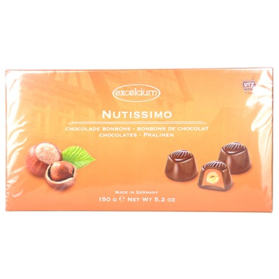 Hamlet Chocolates With Nutsfilling (Gift Box) 150g