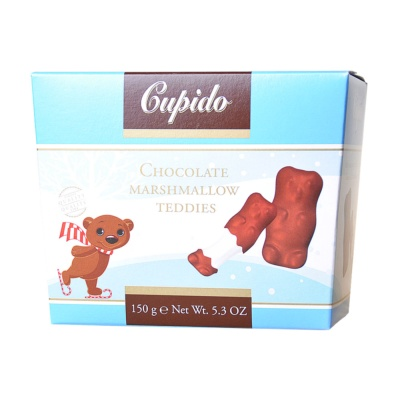 Gupido Chocolate Marshmallow (Teddies) 150g