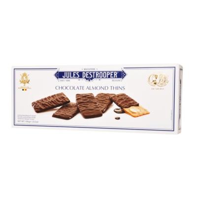 Jules Destrooper Chocolate Almond Thins 100g