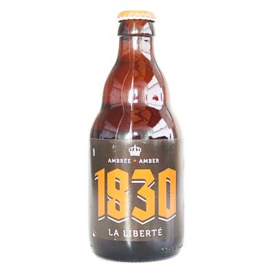 1830 La Liberte Amber Beer 330ml