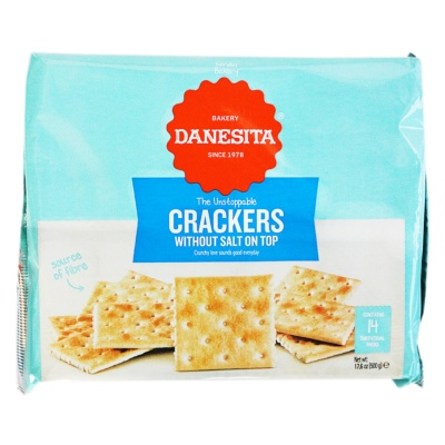 Danesita Without Salt on top Crackers 500g