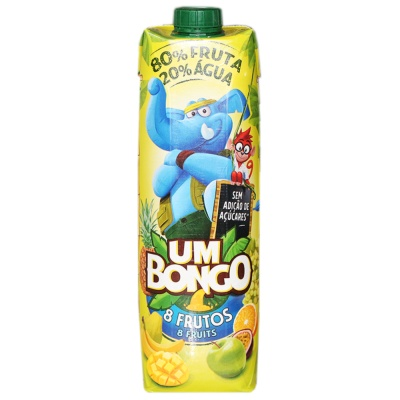 Um Bongo 8 Fruits Juice Drink 1L