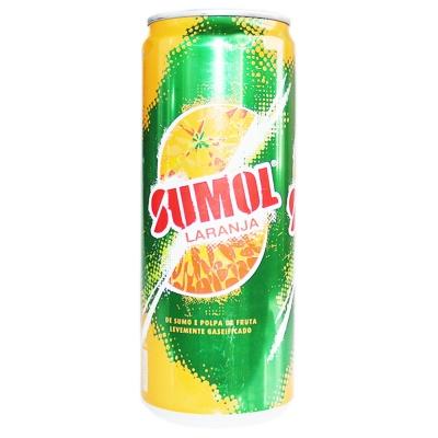 Sumol Orange Juice Carbonated Drink 330ml