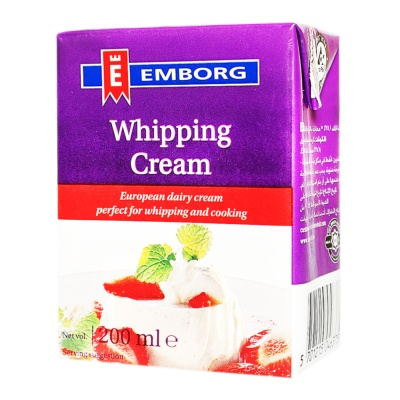 Emborg French Uht Whipping Cream 200ml