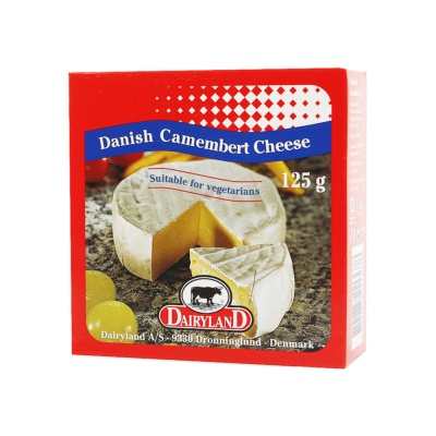 Dairyland Danish Camembert Cheese 125g