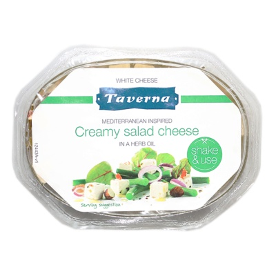 Taverna Creamy Salad Cheese In A Herb Oil 100g