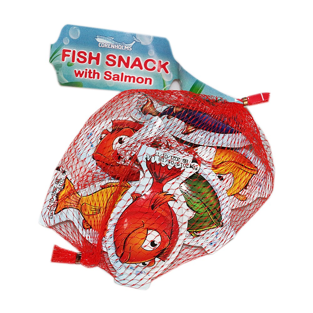 Corenholms Fish Snack With Salmon 108g