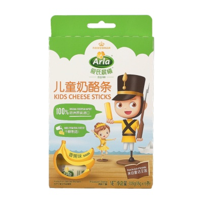 Arla Kids Cheese Sticks (Banana) 108g