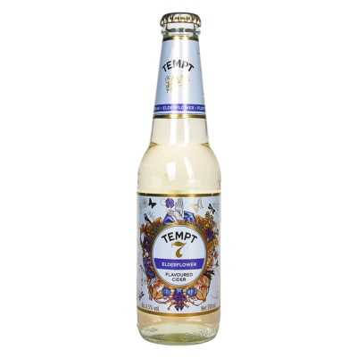 Tempt No.7 Elderflower Flavoured Cider 330ml