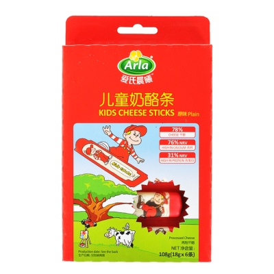 Arla Kids Cheese Sticks (Plain) 108g