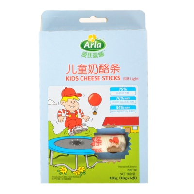 Arla Kids Cheese Sticks (Light) 108g