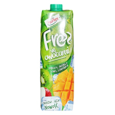 Hortex Apple,Mango,Kiwi,Limonka Mixed Juice Drink 1L