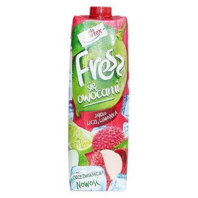Hortex Apple,lychee,Limonka Mixed Juice Drink 1L