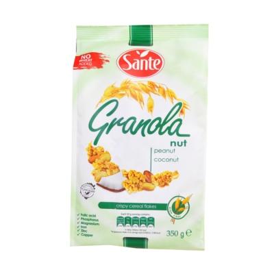 Sante Granola Peanut Coconut Crispy Cereal Flakes 350g