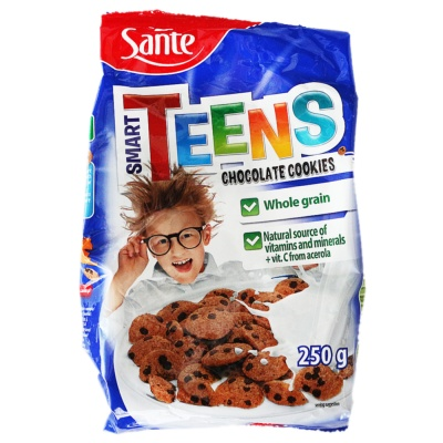 Sante Cereal Chocolate Cookies 250g