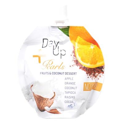 Dayup Pearls Orange&Coconut Dessert Puree 100g