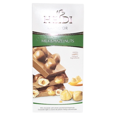 Heidi Milk Chocolate With Hazelnuts 100g
