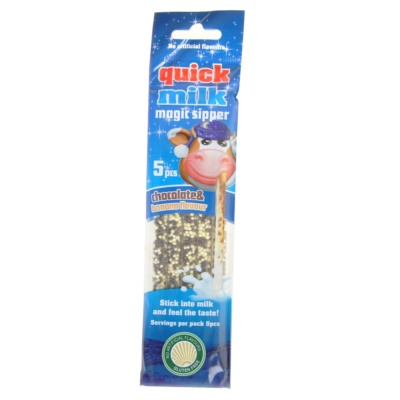 Quick Milk Magic Sipper (Chocolate & Banana Flavored Granular Sugar) 30g