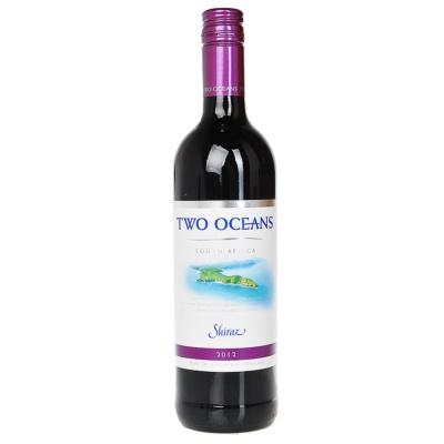 南非双洋设拉子红葡萄酒 750ml
