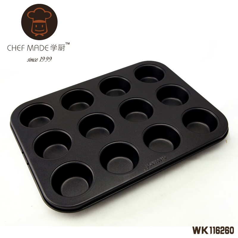 12 Cup Mini Muffin Pan 255*95*22