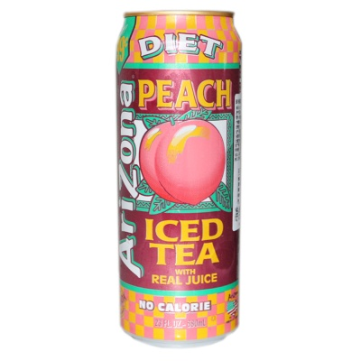 Arizona Diet Peach Iced Tea 680ml