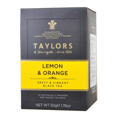 Taylors Lemon & Orange Tea 50g
