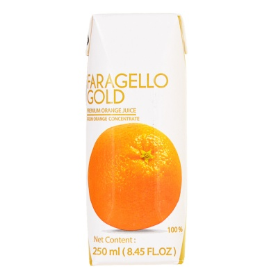 Faragello Gold Premium Orange Juice 250ml