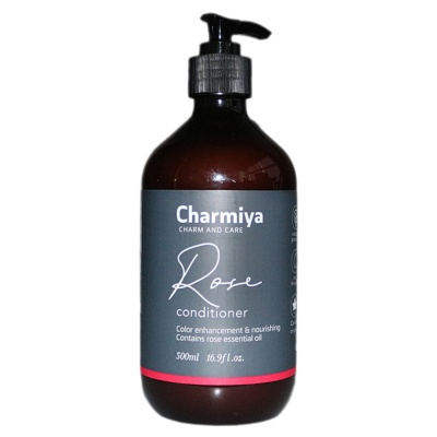 Charmiya Rose Essential Oil Conditioner 500ml