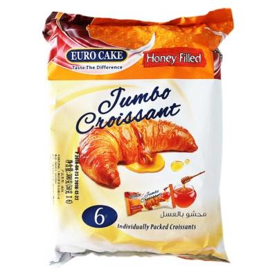 Euro Cake Jumao Croissant Honey Filled 6*50g