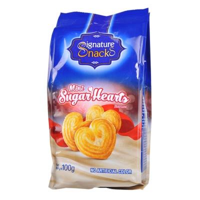 Signature Snacks Mini Sugar Hearts Biscuits 100g