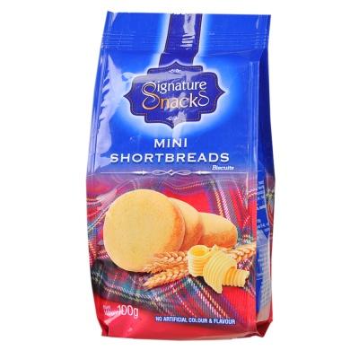 Signature Snacks Mini Shortbreads Biscuits 100g
