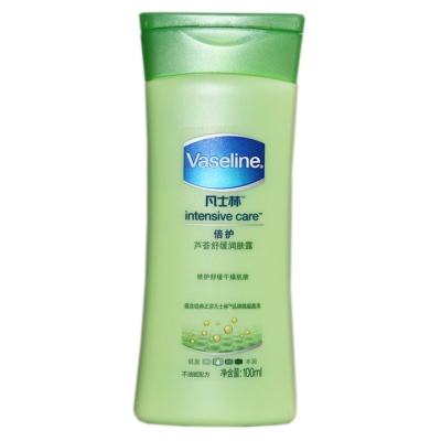 Vaseline Intensive Care Aloe Soothing Body Lotion 100ml