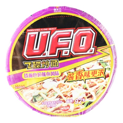 UFO Salad Squid Flavor 123g