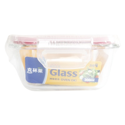 Cleanwrap Borosillicate Glass Container 112*112*48.5mm