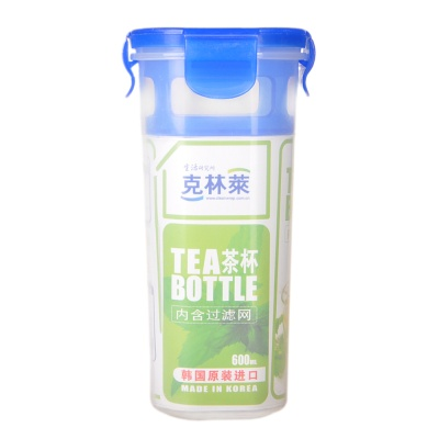 Cleanwrap Tea Bottle 600ml