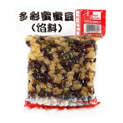 Kyo Nichi Mixed Beans (White Kidney Beans, Red Kidney Beans, Green Peas) 500g