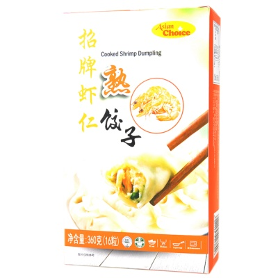 Asian Choice Cooked Shrimp Dumpling 360g