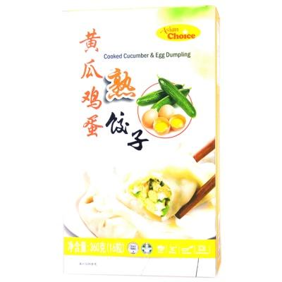 Asian Choice Cooked Cucumber & Egg Dumpling 360g