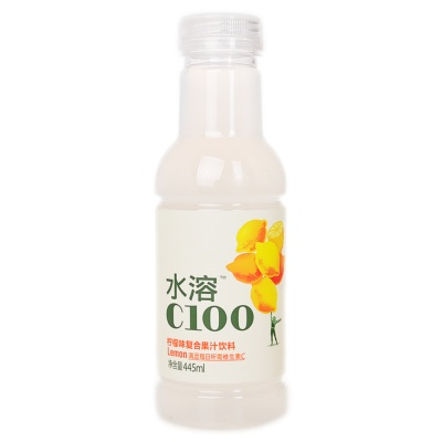 C100 Lemon Juice Drink 445ml