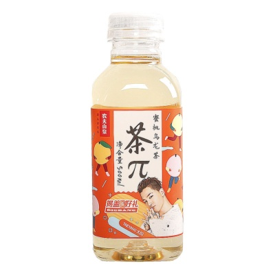 Nongfuspring Tea π Peach Oolong Tea 500ml